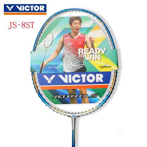 Raket Victor Jetspeed S 10 New Colour Original 3ug5 Js10 Oke victor badminton racket 2014 new jetspeed s badminton