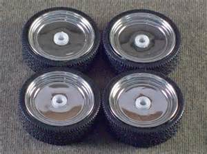1 25 Scale Model Truck Wheels And Tires 1 25 Scale Model Car Parts Junkyard Tires Wheels Ebay