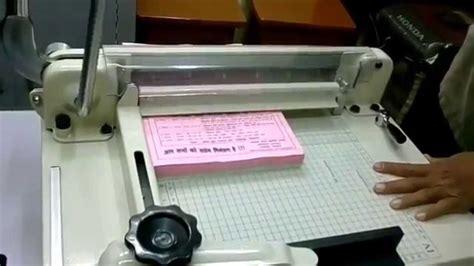 Small Paper Machine - small paper cutting machine price finishersantibes