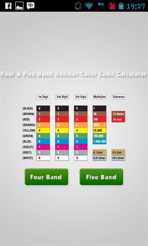 baca warna resistor aplikasi pembaca gelang warna resistor apk abdurrive