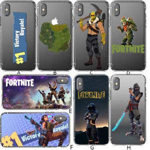 iphone silicone phone fortnite victory royale iphone x 6s 7 8 plus 5s 5c 4 ebay