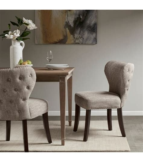 tufted dining room chairs sale daodaolingyy com tufted back winged dining chair s on dining room black