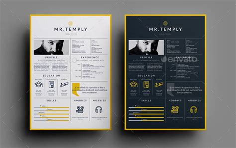 Best Resume Design Templates by 30 Best Resume Template Designs 2015 Web Graphic