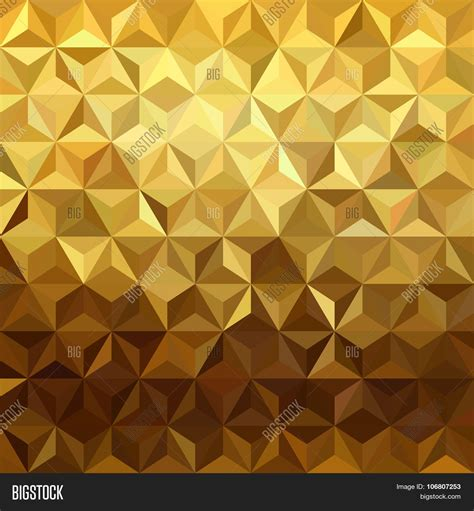gold pattern image gold pattern low poly 3d triangle vector photo bigstock