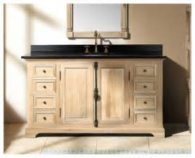 rustic bathroom vanities for a casual country style