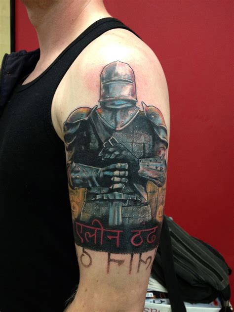 cross shield tattoo crusader warrior korsridder robert