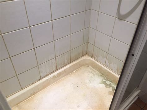 How To Remove Limescale From A Shower by Limescale Removed From Ceramic Tiles In Basingstoke Shower