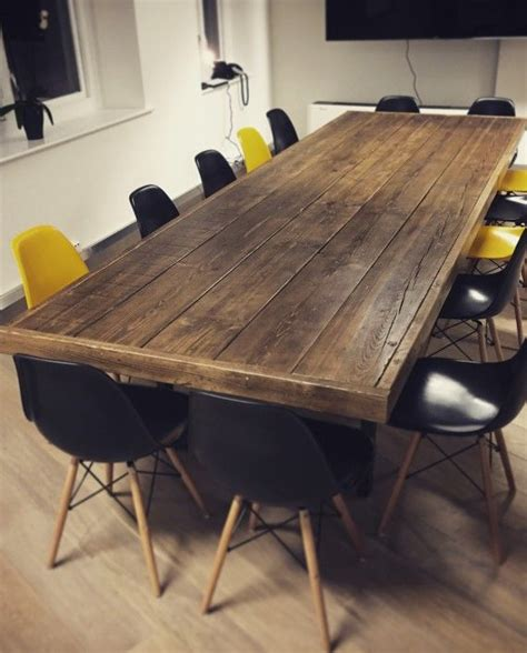 Boardroom Table Ideas 25 Best Ideas About Reclaimed Wood Tables On Reclaimed Wood Furniture Barn Wood