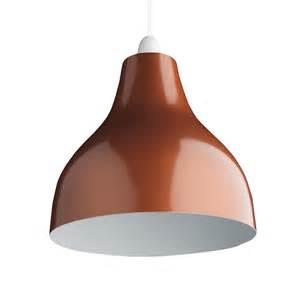 Copper Pendant Light Shade Retro Cafe Bistro Metal Lighting Pendant Shades Copper