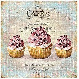 imagenes vintage reposteria cupcakes decoupage pinterest laminas decoupage y