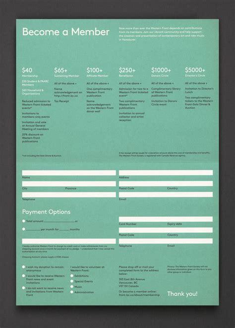 brochure design designspiration western front membership post projects designspiration