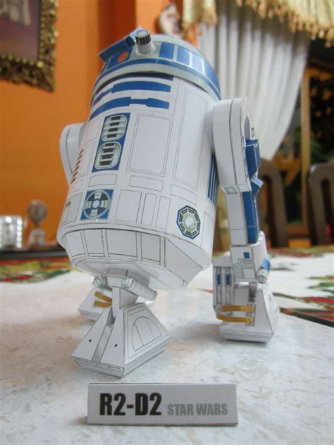 R2d2 Papercraft - papercraft wars r2 d2 by 51114u9 on deviantart