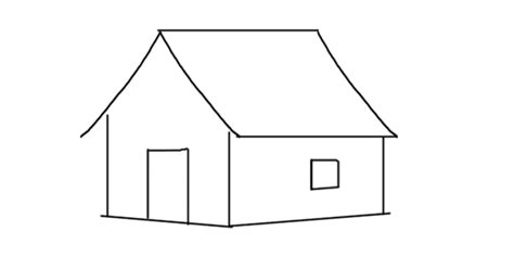 how to draw a house for kids step by step drawing how to draw a house step by step drawing for kids