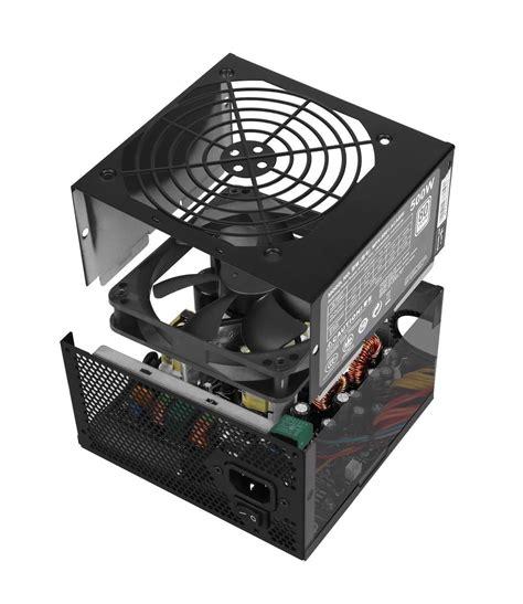 Cooler Master Psu Masterwatt Lite 500 W cooler master masterwatt lite 500 psu mpx 5001 acabw uk