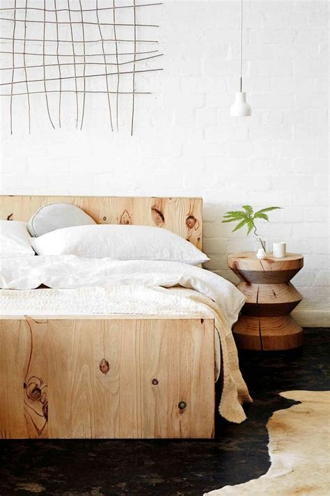 Organic Bed Frame 25 Best Ideas About Modern Wood Bed On
