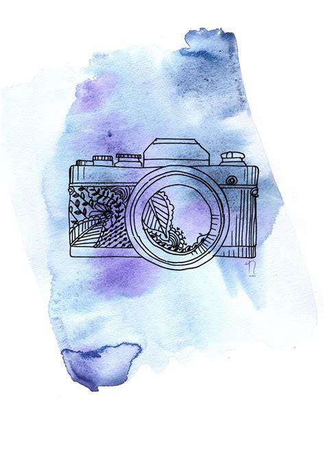 Camera Sketch Wallpaper | brika com camera print more colors a well crafted