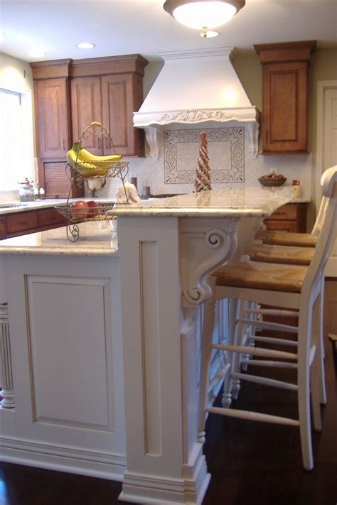 splendid houzz kitchen islands  corbels  vintage