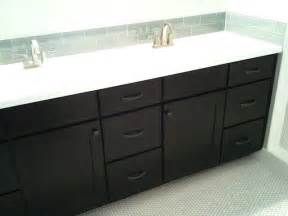 black cabinet bathroom black cabinets shaker style cliqstudios contemporary