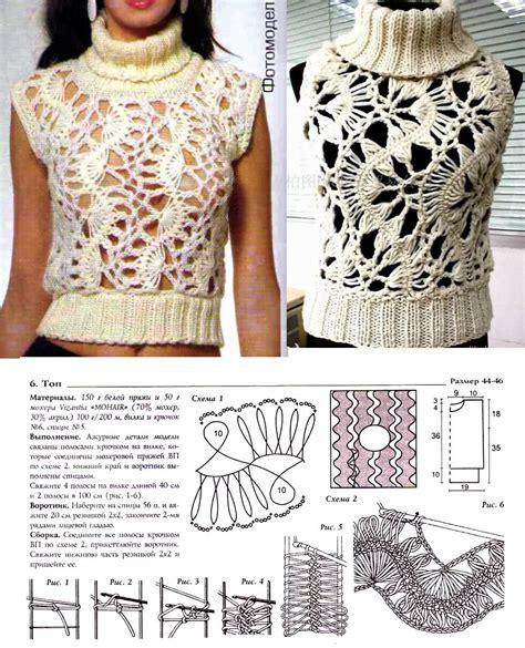 patrones de tejido gratis chaleco tejido en redondo pin patrones de tejido gratis chaleco en redondo on pinterest