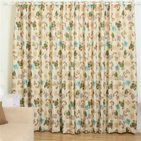 cute bedroom curtains kids bedrooms cute window curtains with bear patterns