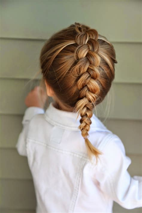 one braid hairstyles the dutch braid this braid is just like a french braid