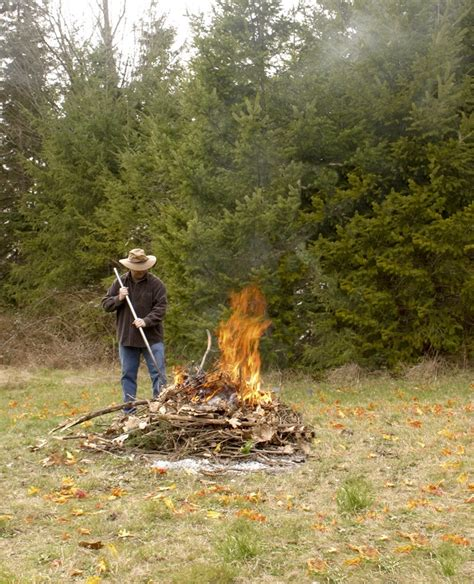 backyard burning open burning about to kick in for the fall winter and