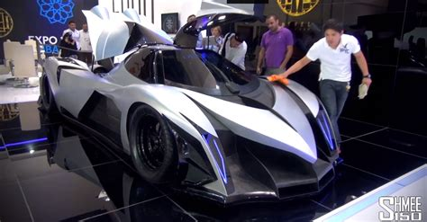 The Devel Sixteen Is A 5000hp V16 Hypercar Of Horrors