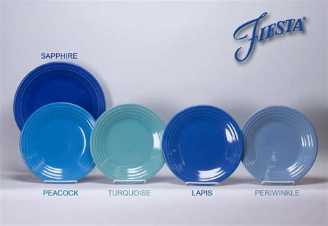 ware colors the new fiestaware color lapis offered by homer laughlin