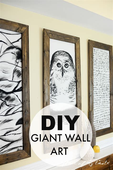 Decorating large walls large scale wall art ideas