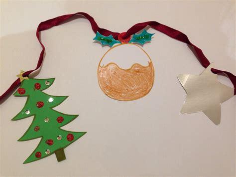 christmas pudding craft christmas bunting xmas
