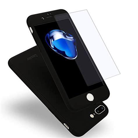 Iphone 7 Plus 360 Degree Slim Fit Black iphone 7 plus coocolor fit 360 degree