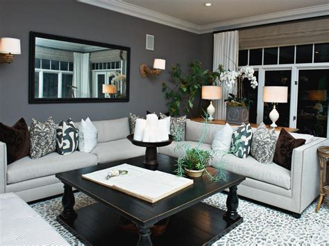 Gray Living Rooms by Photo Page Hgtv