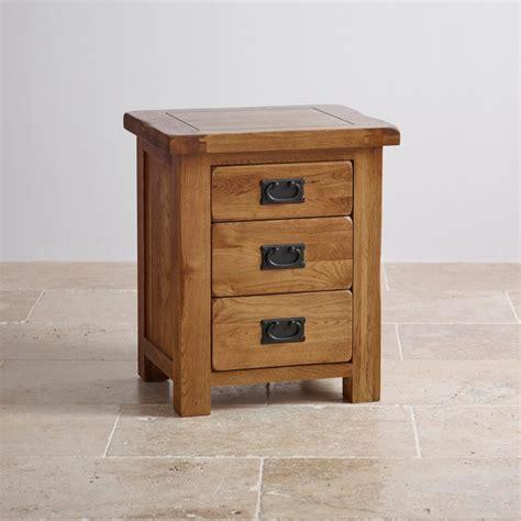 bedside table best furniture models original rustic 3 drawer bedside cabinet oak furniture land
