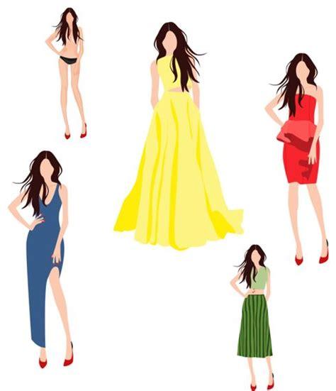 desain dress vector fitinline com mendesain baju dengan software edraw max