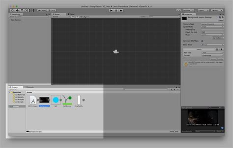 tutorial unity pong make a pong game with unity 2d awesome inc u