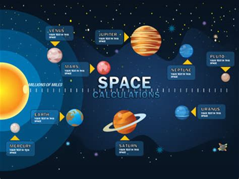 Solar System A Powerpoint Template From Presentermedia Com Microsoft Powerpoint Templates Space