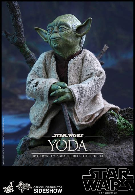 figure yoda wars yoda sixth scale figure by toys sideshow