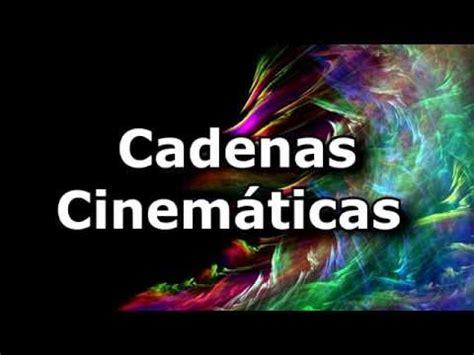 cadena cinematica muscular pr 225 ctica 4 cadenas cinem 225 ticas animaci 243 n youtube