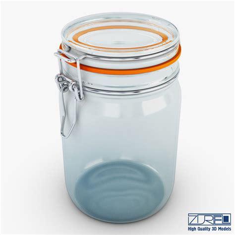 Porta Jar 10 Liter 3d model jar herm fido 1