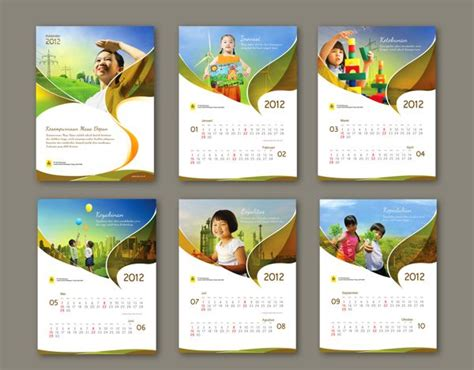 wall calendar layout design 11 best corporate calendar design images on pinterest
