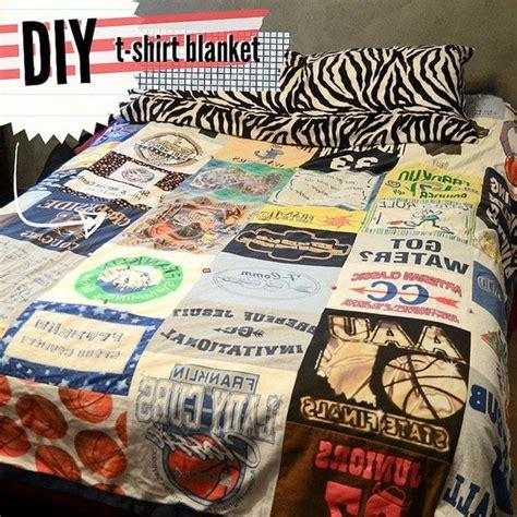 t shirt quilt diy create