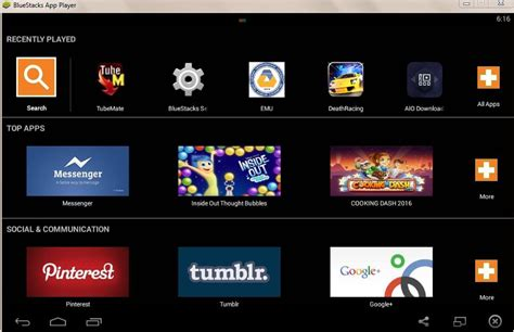 bluestacks for android top 5 best android emulators for pc windows 10 8 1 8 7 xp