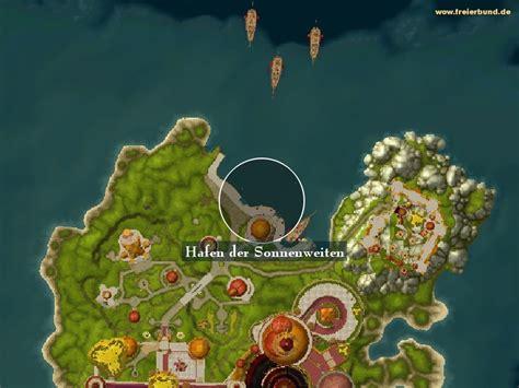 terrasse der magister eingang hafen der sonnenweiten landmark map guide freier