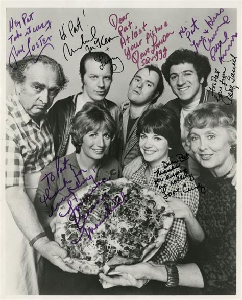 shirley cast laverne shirley cast signed production photograph