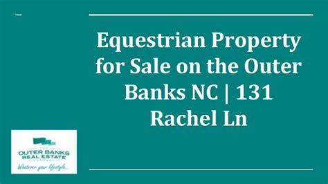 bank assets for sale equestrian property for sale on the outer banks nc 131