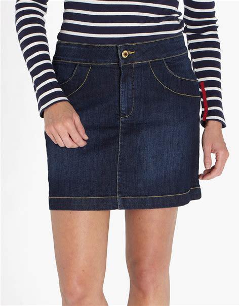 sian denim skirt dress journal