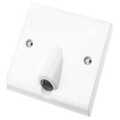 Mk 25a white slimline flex outlets city electrical factors