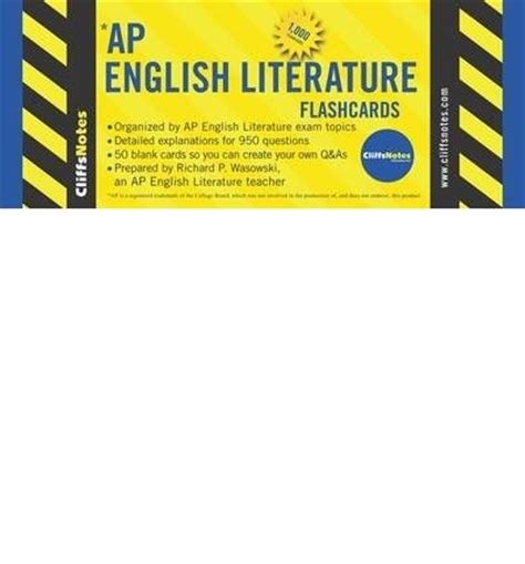 cliffsnotes ap european history cram plan books cliffsnotes ap literature richard p wasowski