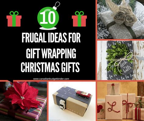 10 frugal ideas for gift wrapping christmas presents the