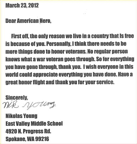 appreciation letter to veterans pin by dinding 3d on remplates and resume